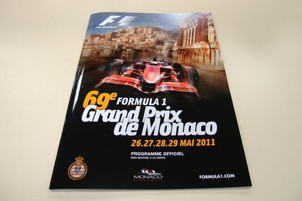 【限定販売】2011年モナコGP・オフィシャルプログラム