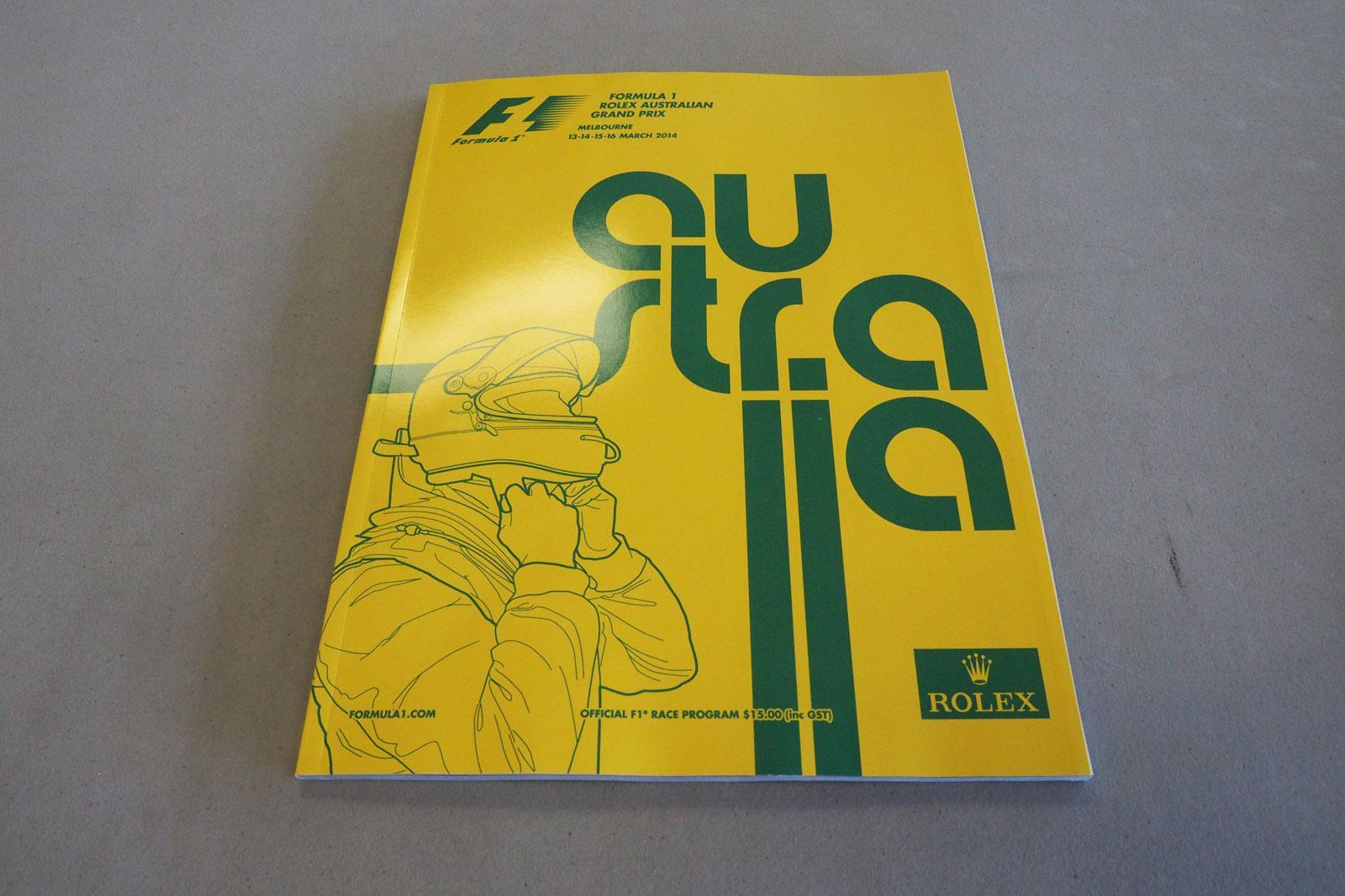 【限定販売】2014年オーストラリアGPオフィシャルプログラム