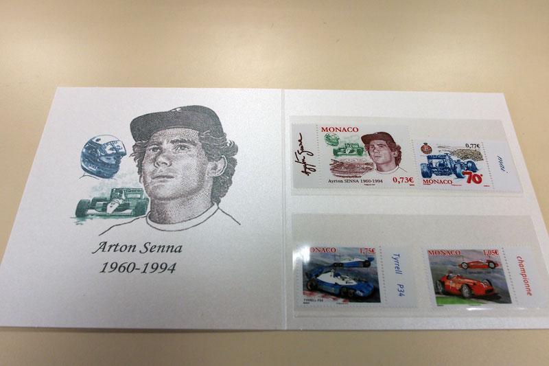【限定販売】モナコ公国 F1切手&便箋セット