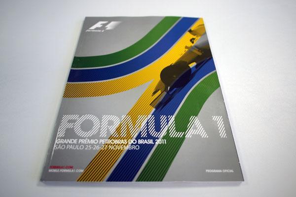 【限定販売】2011年ブラジルGP・オフィシャルプログラム