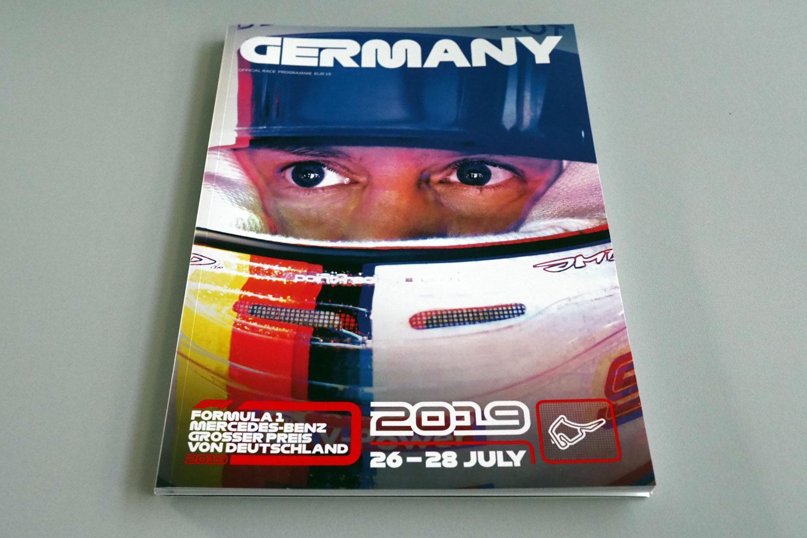 【限定販売】2019年ドイツGPオフィシャルプログラム
