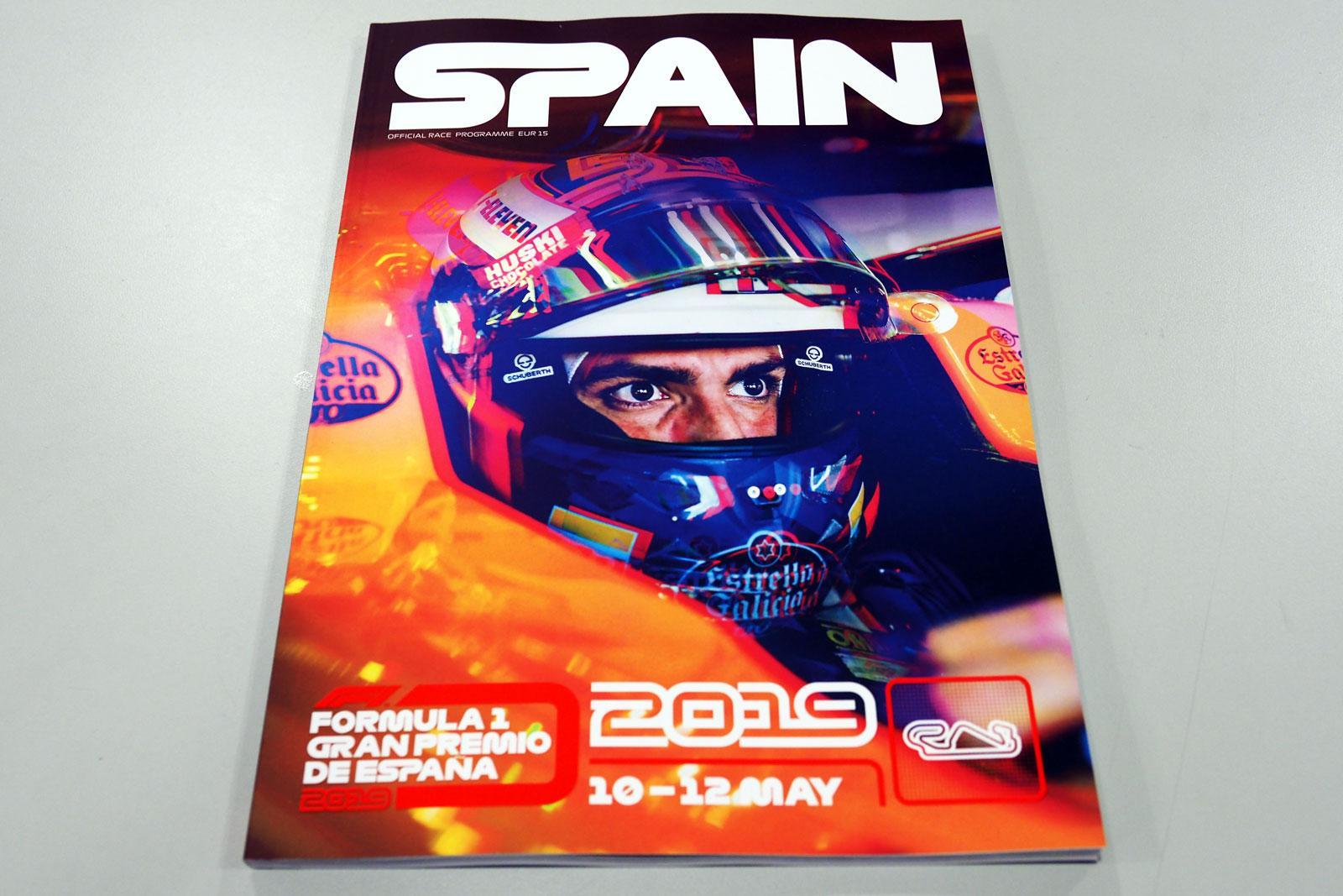 【限定販売】2019年スペインGPオフィシャルプログラム