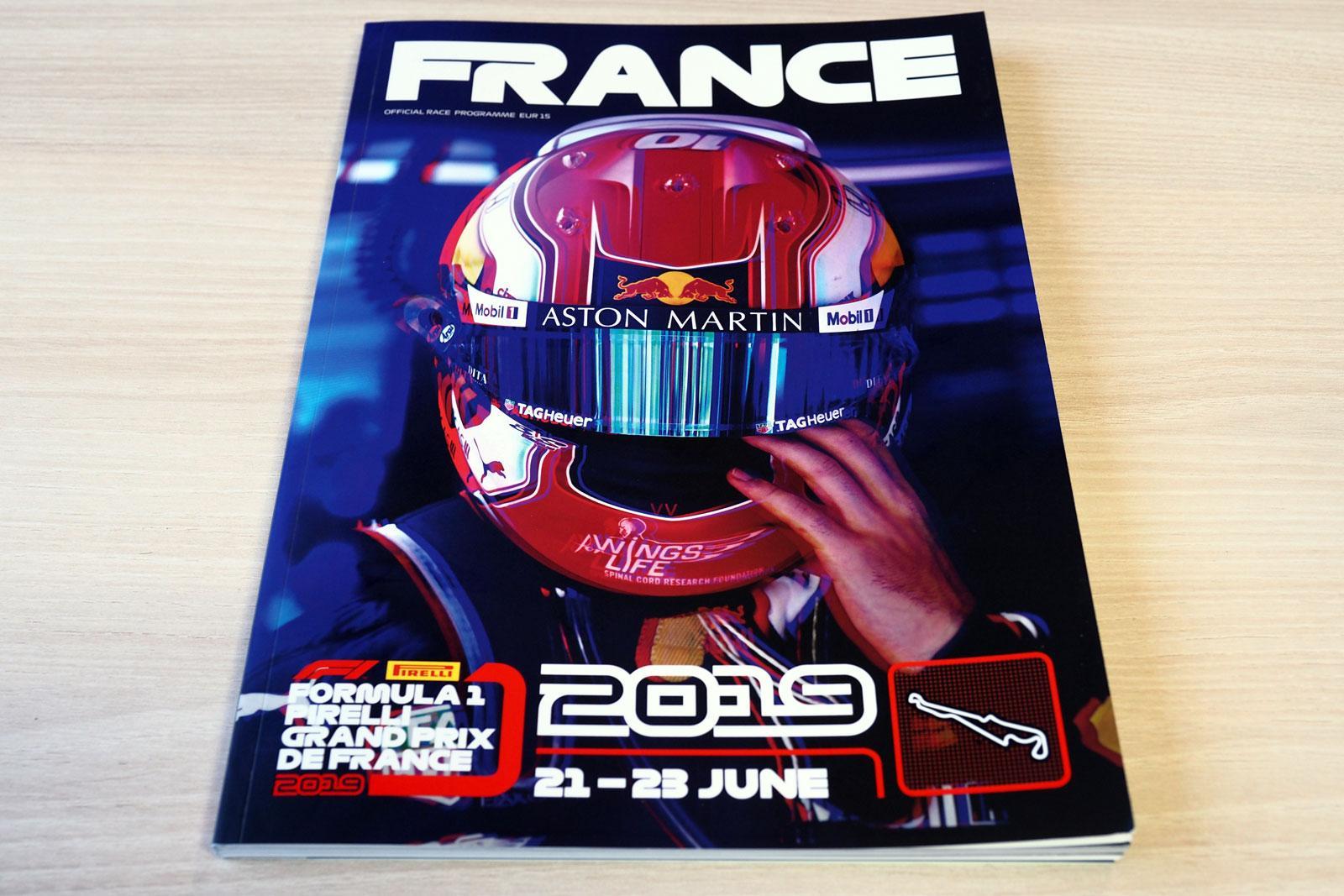 【限定販売】2019年フランスGPオフィシャルプログラム