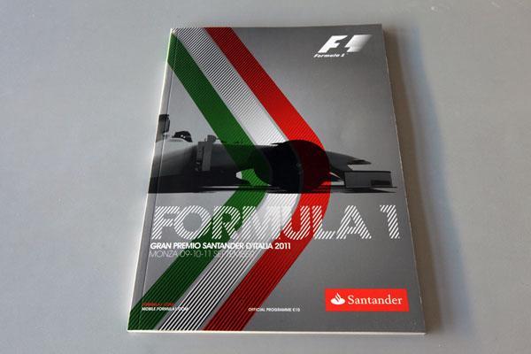 【限定販売】2011年イタリアGP・オフィシャルプログラム