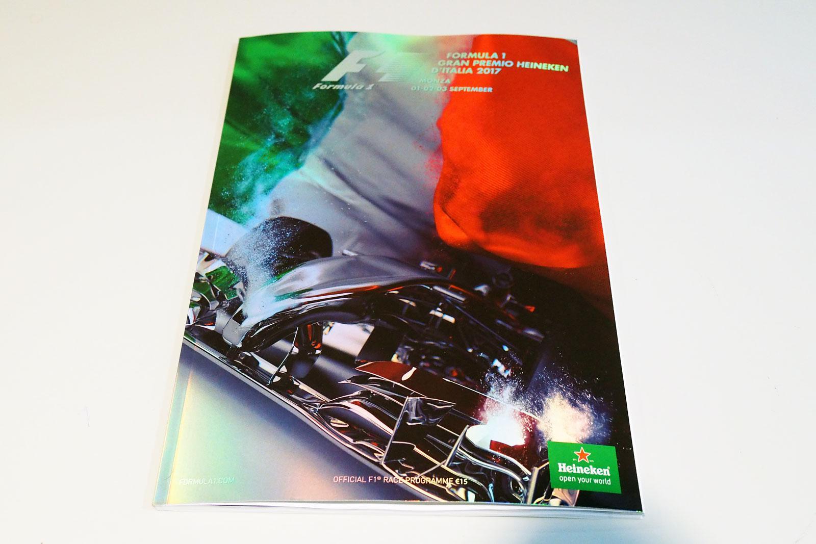 【限定販売】2017年イタリアGPオフィシャルプログラム