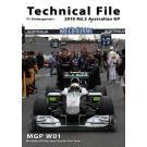 メルセデスGP MGP W01(2010 Rd.2 オーストラリア)
