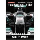 メルセデスGP MGP W02(Technical File 2011 LAUNCH EDITION)